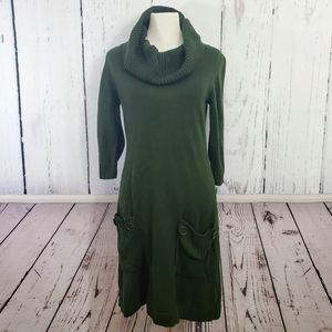 GNW Cowl Neck Sweater Dress